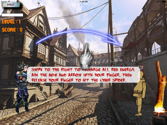 Archer Girl Of Dark Pro - Addictive Bowmasters Game screenshot 8