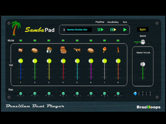 Samba Pad screenshot 2