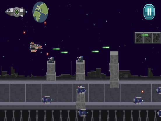 Action Star Fighter - Retro Space Shooter Game screenshot 7