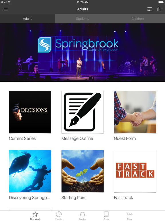 Springbrook Community Church screenshot 4