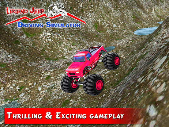 Legend Jeep Driving Simulator screenshot 6