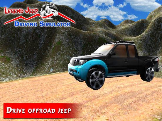 Legend Jeep Driving Simulator screenshot 7