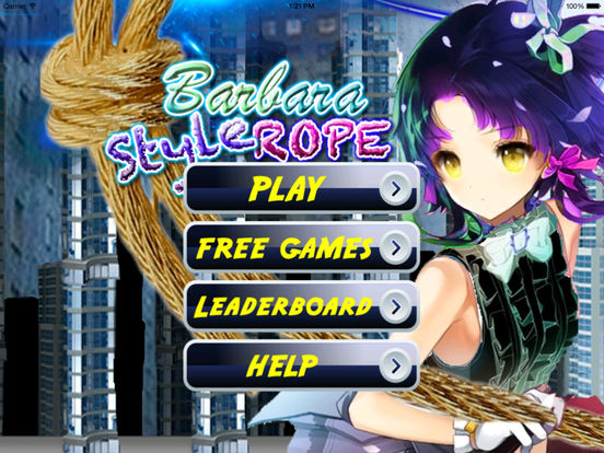 Barbara Style Rope PRO - A City In Fly Jump Bones Broken screenshot 6