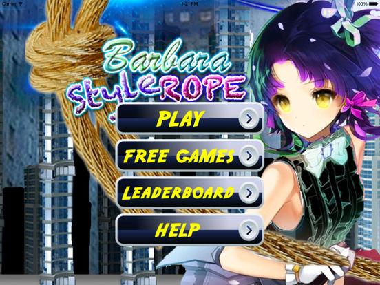 Barbara Style Rope PRO - A City In Fly Jump Bones Broken screenshot 6