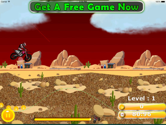 A Wild Trial Motocross Pro - Xtreme Downhill Bike screenshot 7
