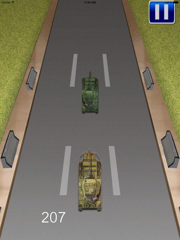 Tank Monster Race - Addictive Revolution War screenshot 7