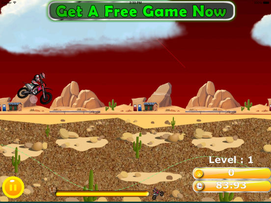 A Wild Trial Motocross Pro - Xtreme Downhill Bike screenshot 10