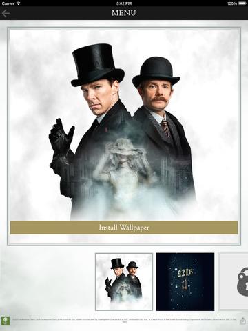 Sherlock The Abominable Bride App screenshot 7
