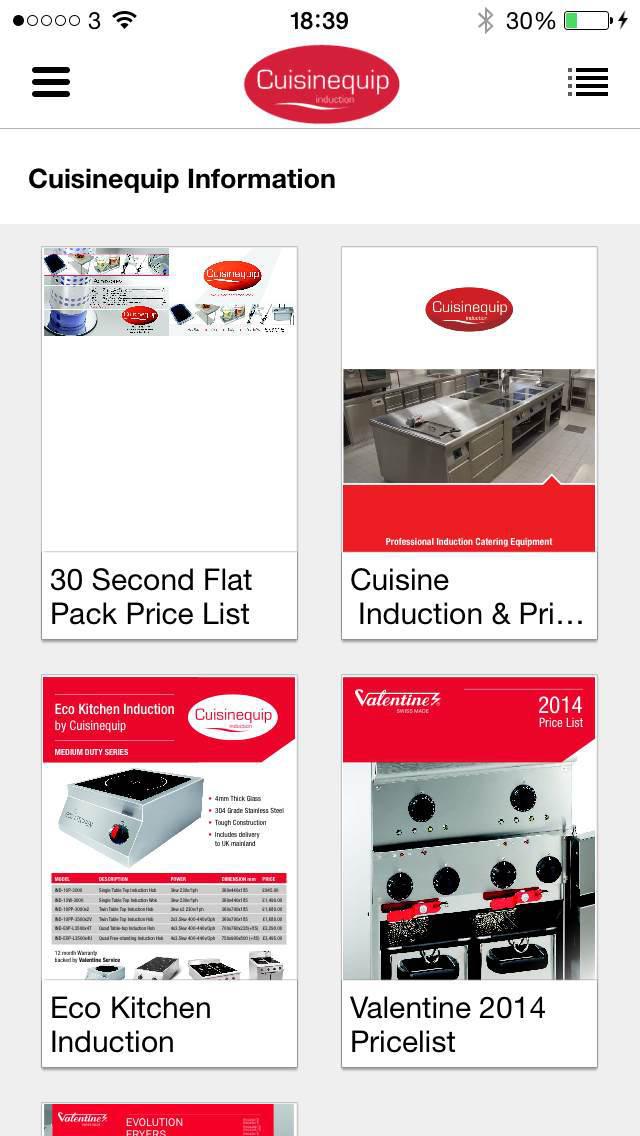 Cuisinequip screenshot 3