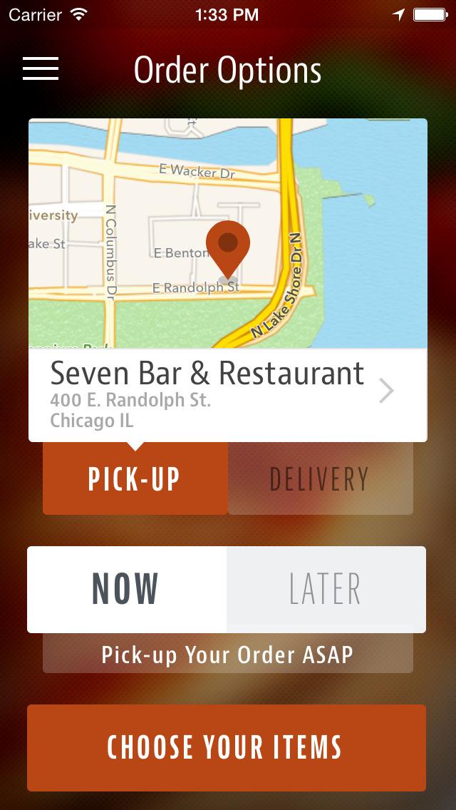 Seven Bar & Restaurant screenshot 2