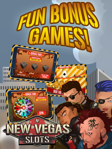 `` New Vegas `` Slots Free screenshot 9