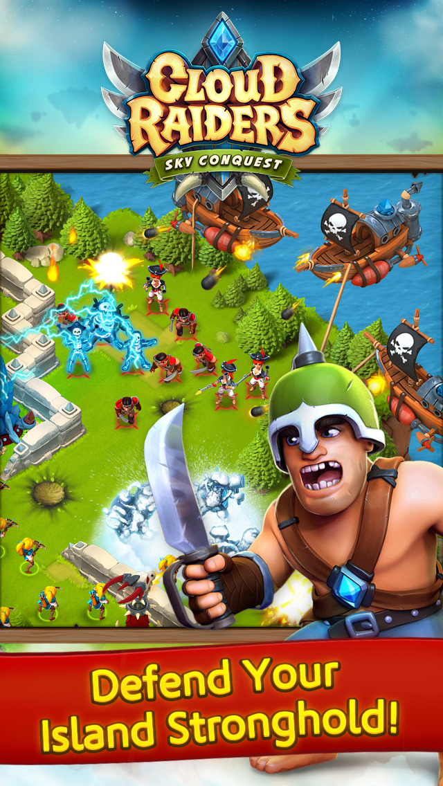 Cloud Raiders screenshot 5