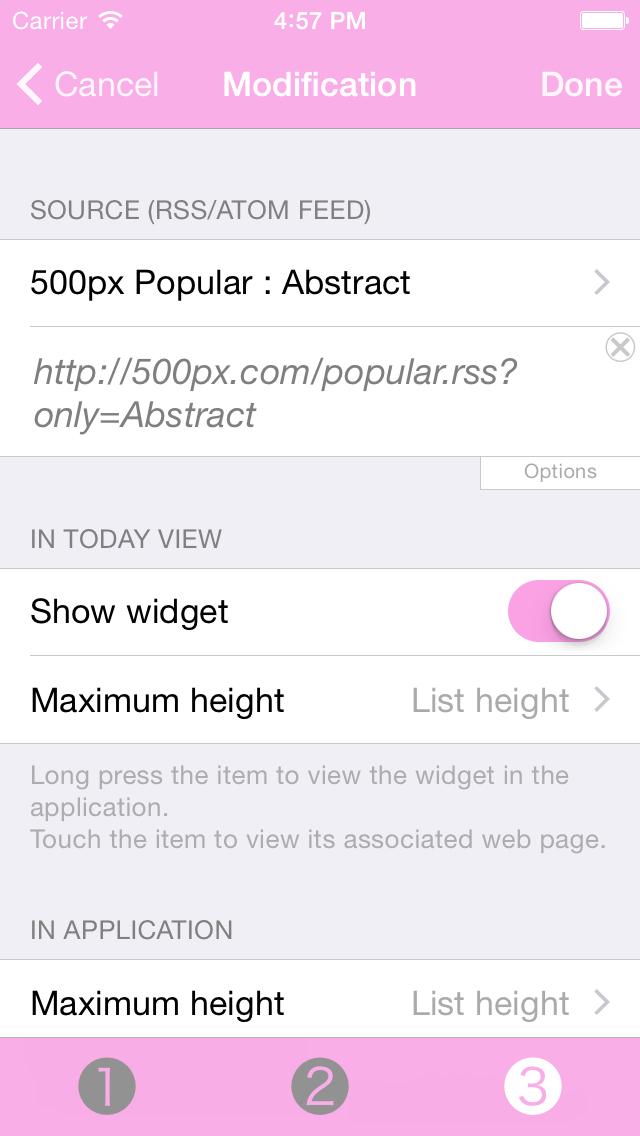 Photo Of The Day Widget screenshot 3