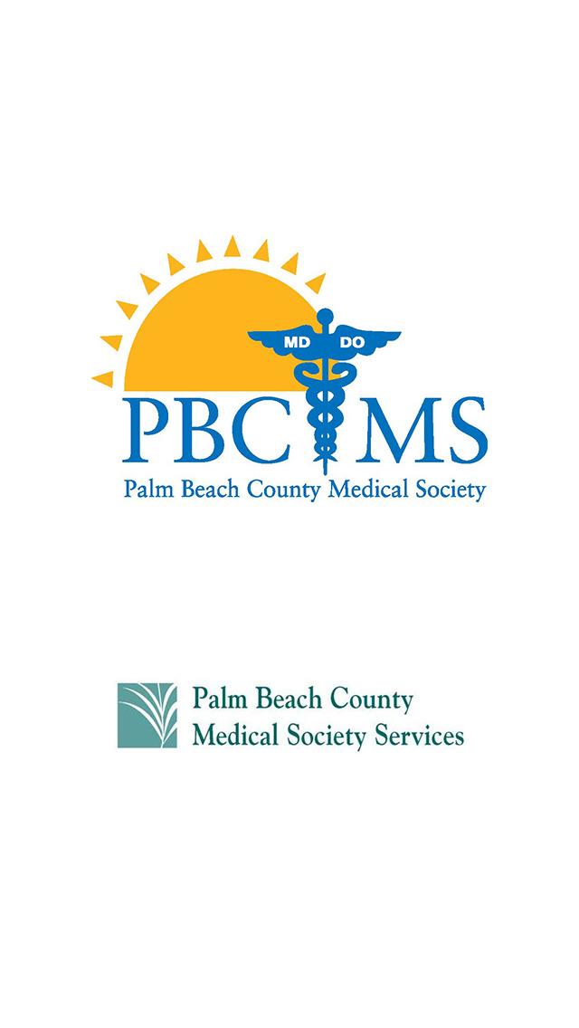 Palm Beach County Medical Society screenshot 1