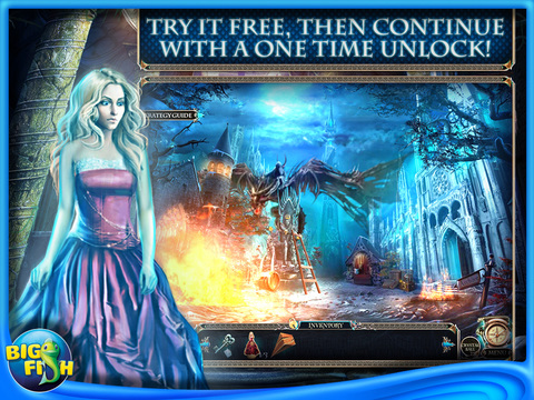 Riddles of Fate: Wild Hunt HD - A Hidden Objects Adventure screenshot 1