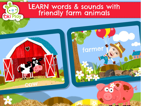 Peek a Boo Farm Animals Sounds screenshot 7
