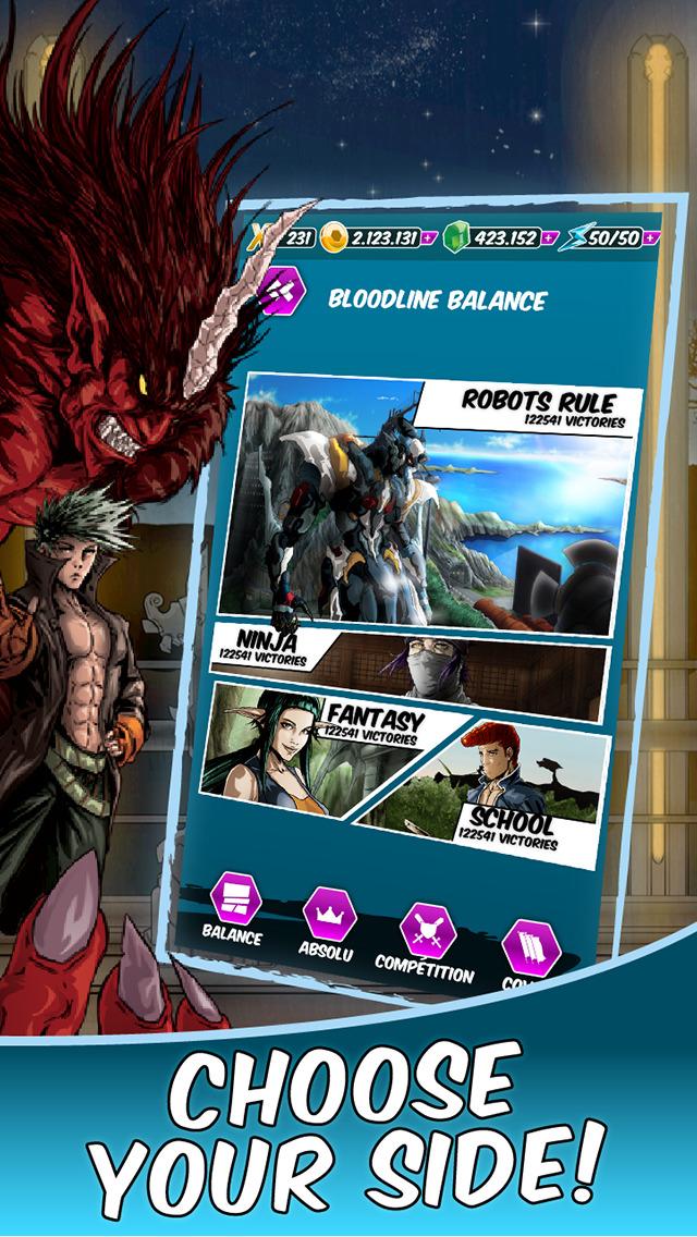 Dengen Chronicles Trading & Collectible Card Game screenshot 5