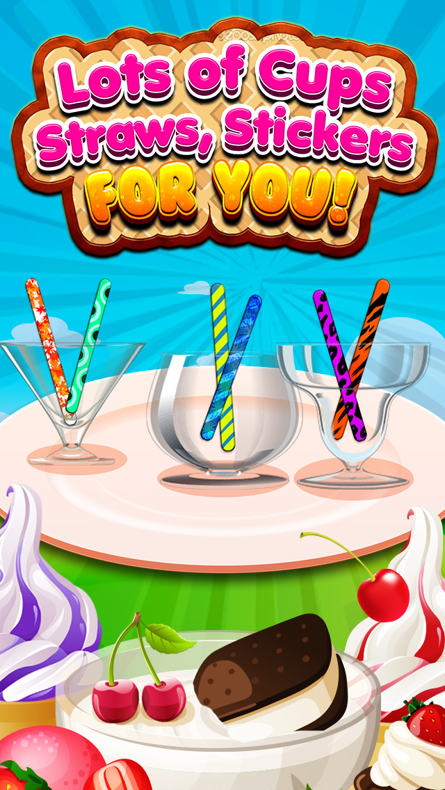 """ A Awesome Sauce Ice Cream Mogul Mania Dessert Maker for Kids! screenshot 4"