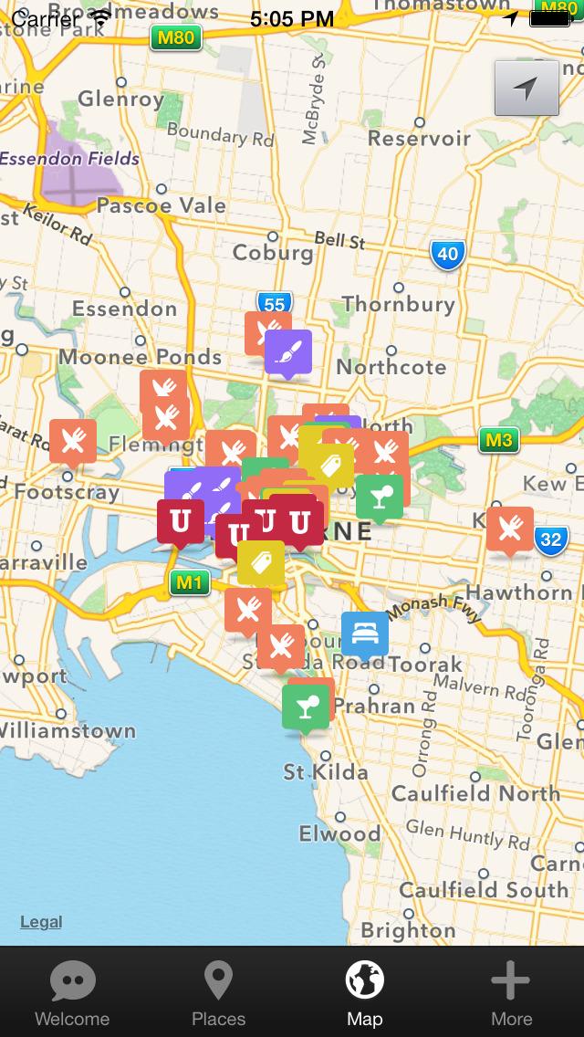 Melbourne Urban Adventures - Travel Guide Treasure mApp screenshot 5