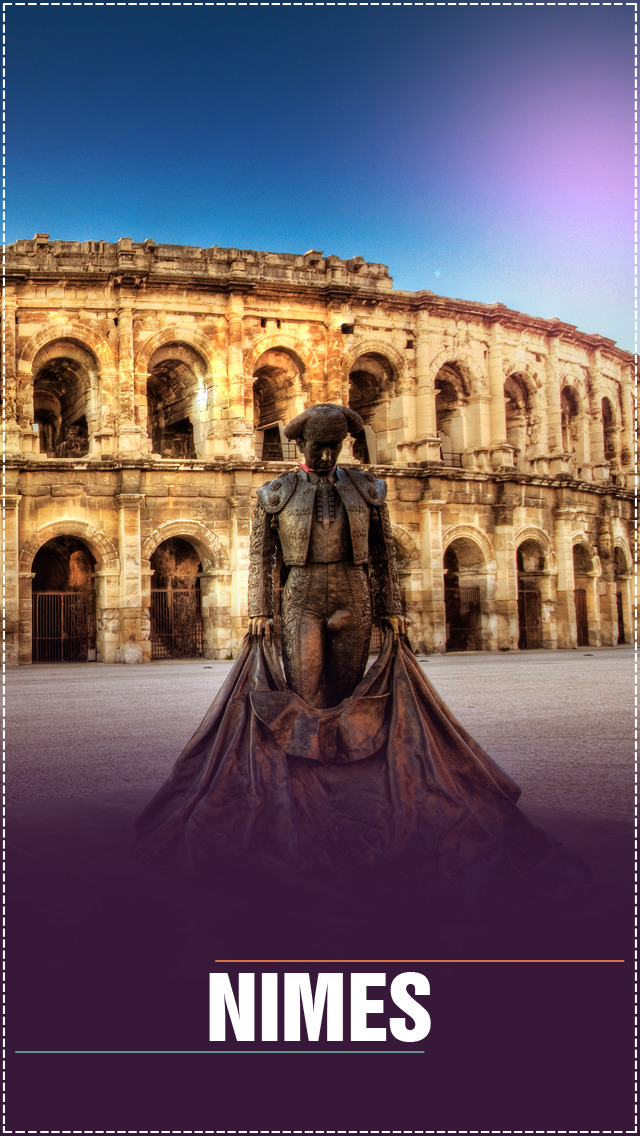 Nimes City Offline Travel Guide screenshot 1