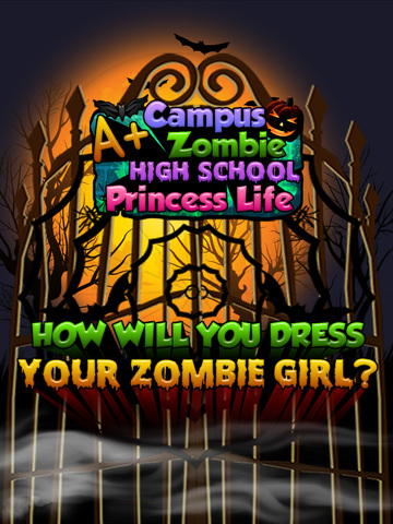 A+ Campus Zombie Makeover High School Princess Spa Life - Free Salon Games for Girls screenshot 6