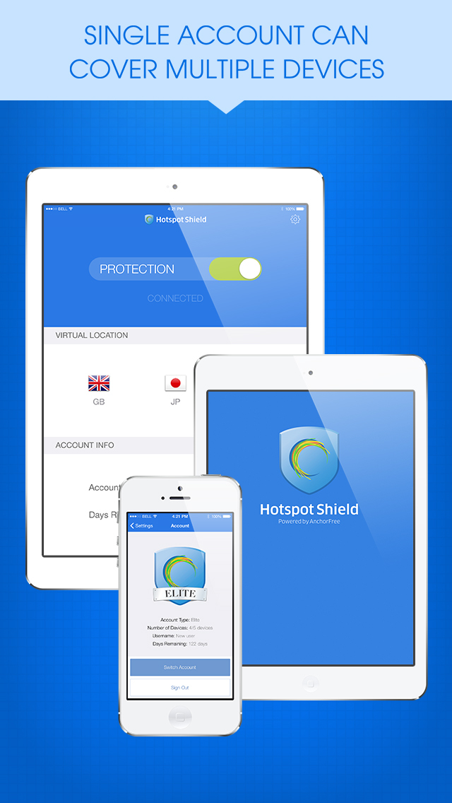 HotspotShield VPN & Wifi Proxy screenshot 4
