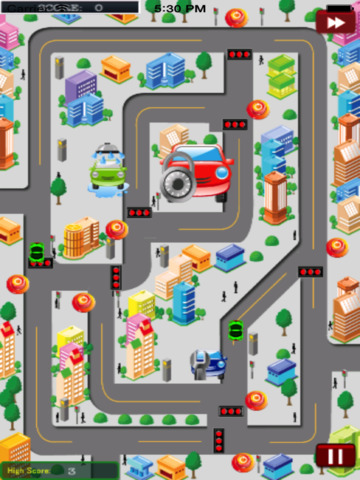 City Traffic Cars HD screenshot 7