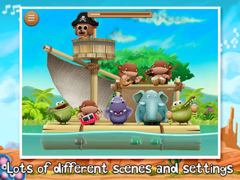 Animal Band Nursery Rhymes screenshot 10
