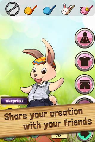 Easter Bunny Dress Up - Rabbit Egg Boutique Fun Ap - náhled