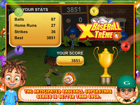 BaseBall Xtreme screenshot 8