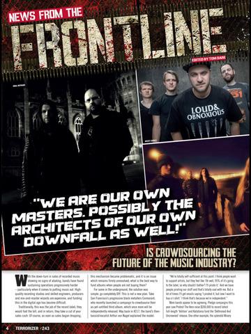 Terrorizer Magazine screenshot 9