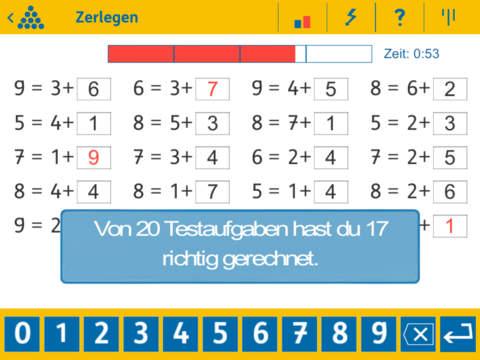 Calculightning 1 - Maths screenshot 8