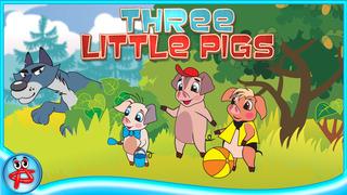 Three Little Pigs: Interactive Touch Book screenshot 1