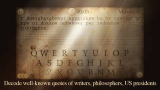 Next Quote - What's the Quote? Break the code & solve cryptogram to acquire the wisdom! screenshot 2