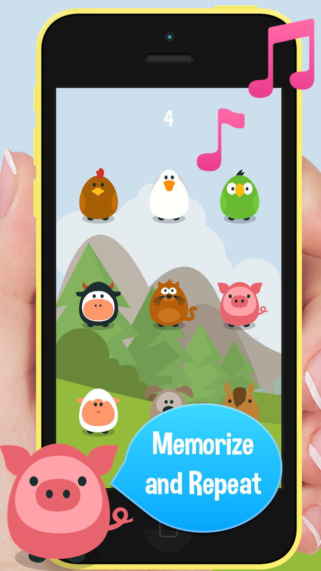 Animal Sounds Memory screenshot #2