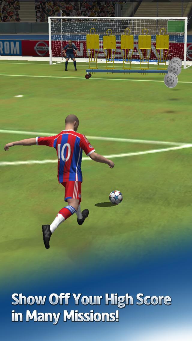 UEFA Champions League PES FLiCK screenshot 4