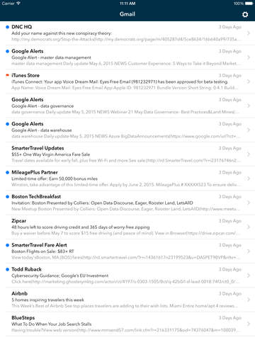 Voice Dream Mail screenshot 8