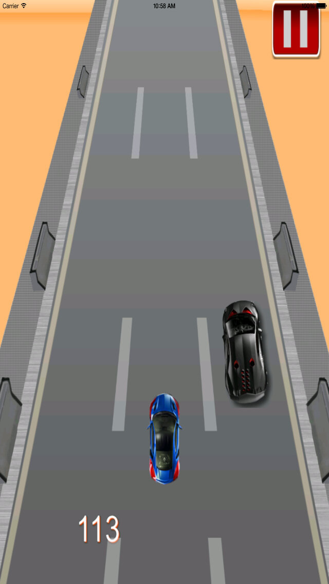 Angry Racing Turbo Chase - Car Race Manager screenshot 3