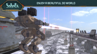 War Robots Multiplayer Battles screenshot #3