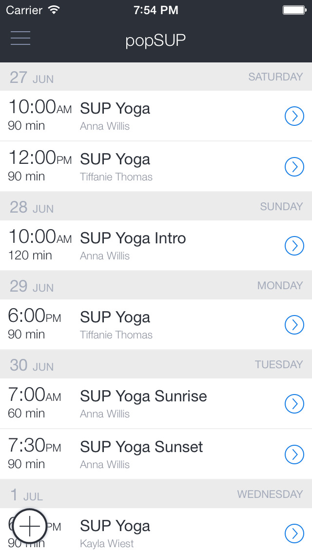 popSUP Seattle Yoga + Rentals screenshot 1