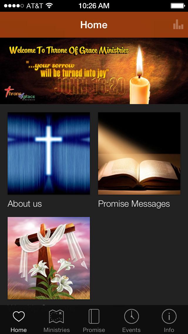 Throne Of Grace Ministries screenshot 1