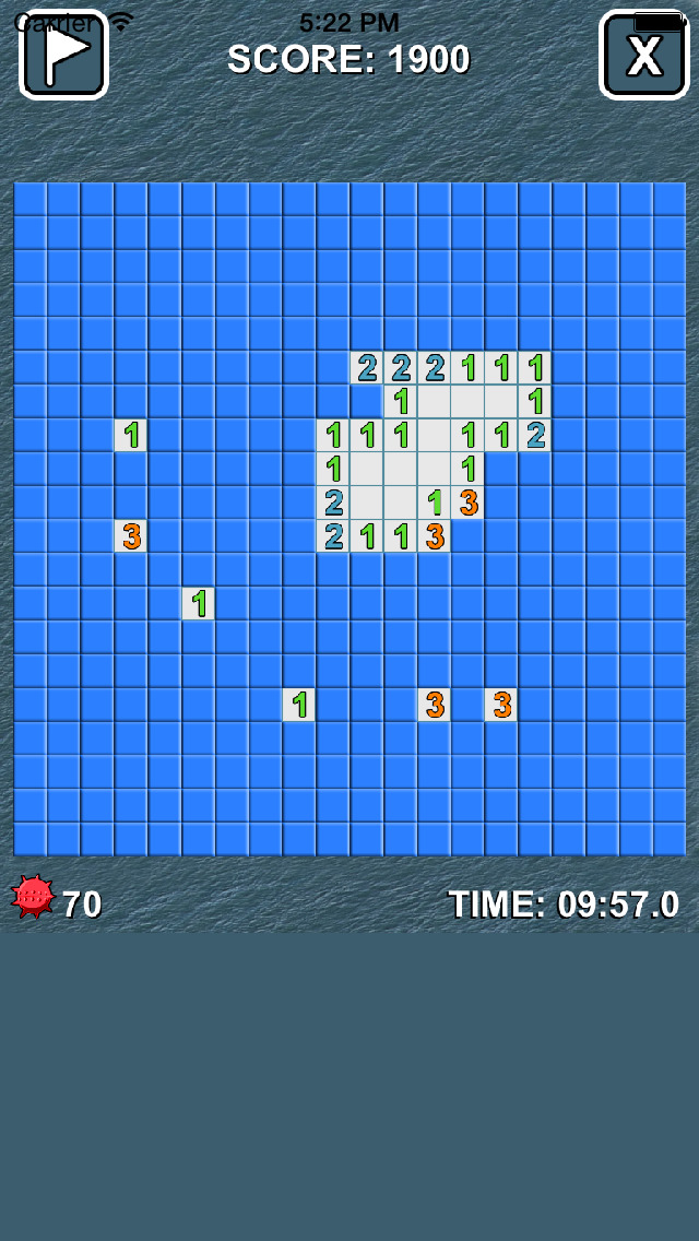 Battleship Minesweeper - Free Minesweeper Game screenshot 2