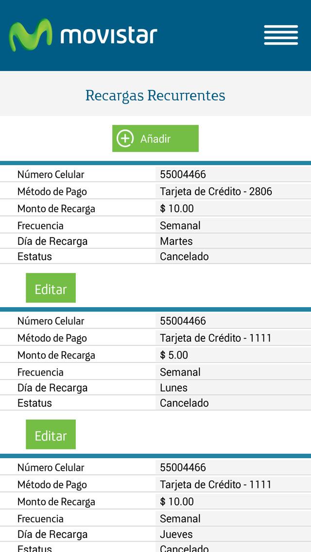 Recargas y Pagos OnLine screenshot 3