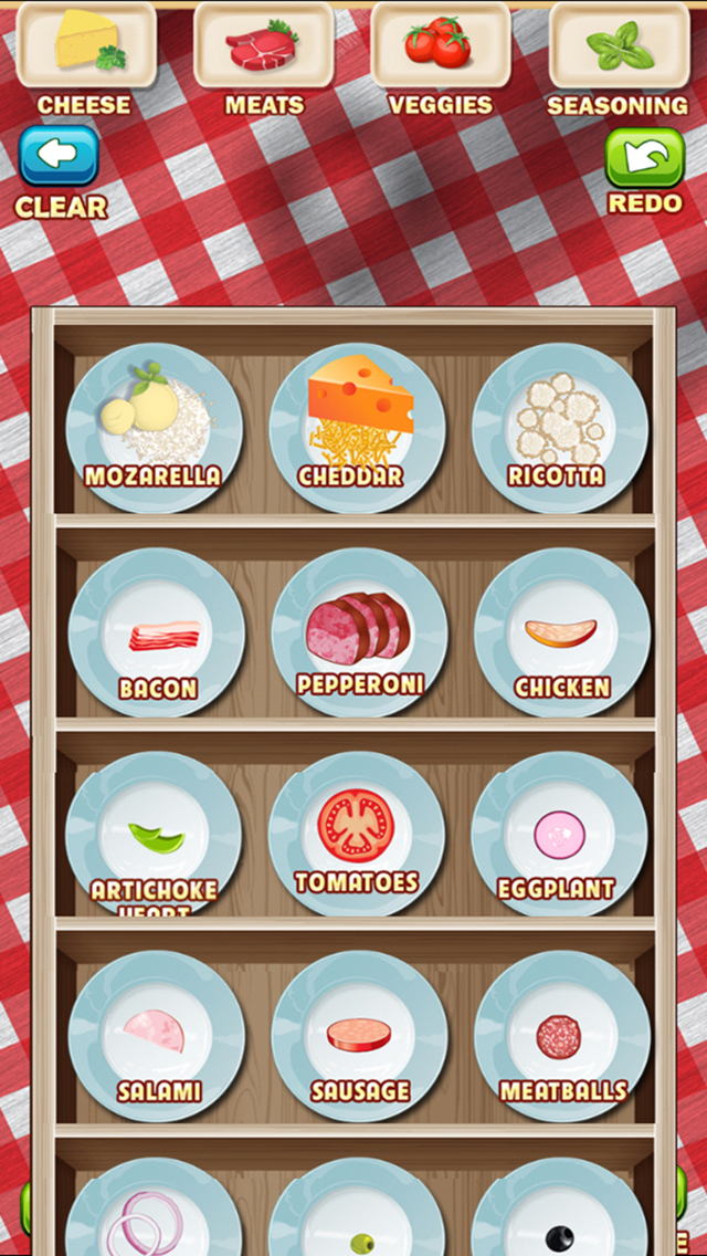 Awesome Pizza Pie Fast Food Party Restaurant Maker screenshot 2