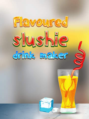 Flavored Slushie Drink Maker Pro - cool kids smoothie drinking game screenshot 6