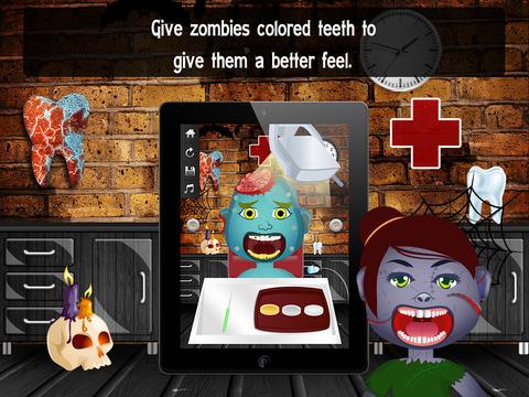 Zombie Monster Dentist Lite screenshot 9