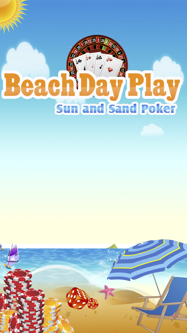 Beach Day Play Pro - Sun and Sand Poker screenshot 1