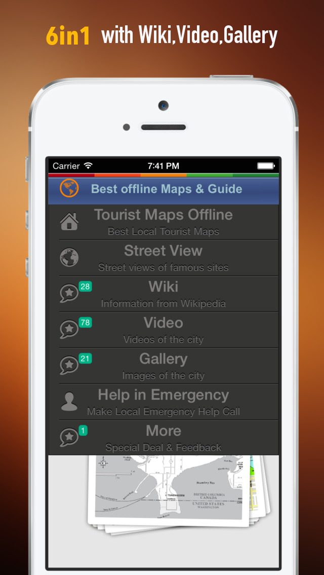 Vancouver Tour Guide: Best Offline Maps with Street View and Emergency Help Info screenshot 2