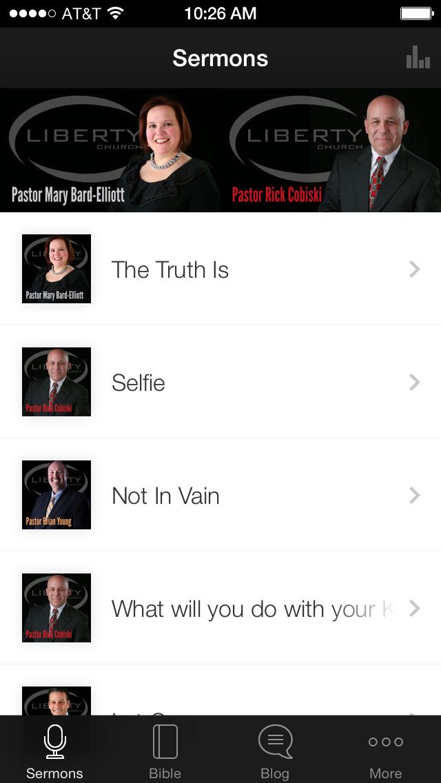 Liberty Churches screenshot 1