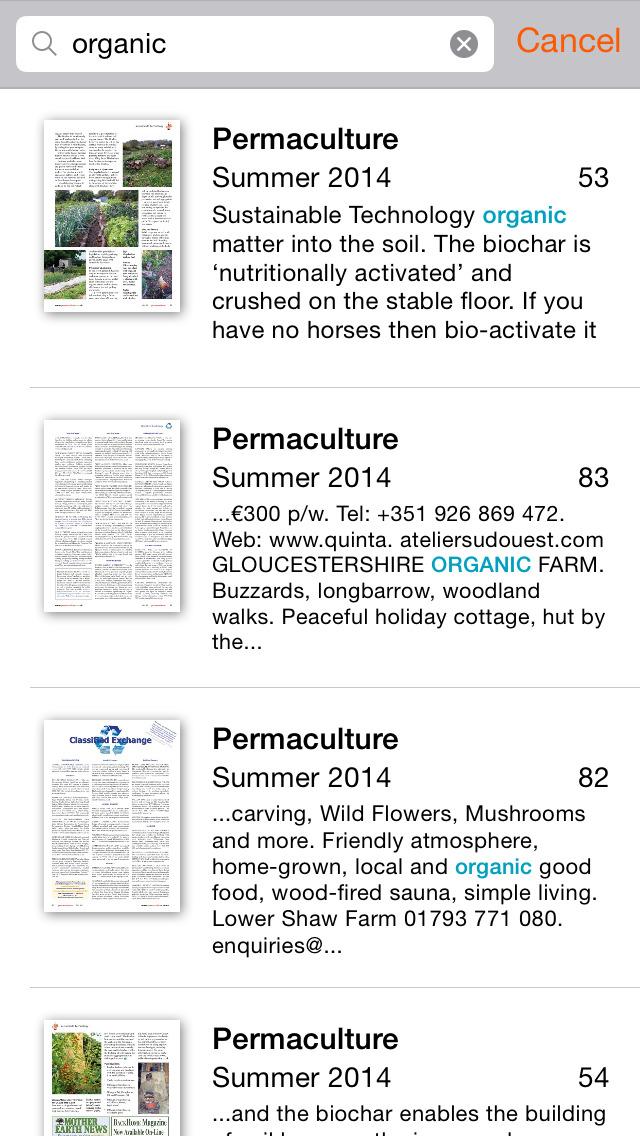 Permaculture International screenshot 4